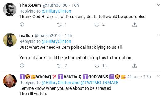 Screenshot-2020-03-22-at-10.27.04-AM Hillary Disgraces Trump & Tweets Coronavirus Failure Video To Voters Donald Trump Healthcare Politics Social Media Top Stories