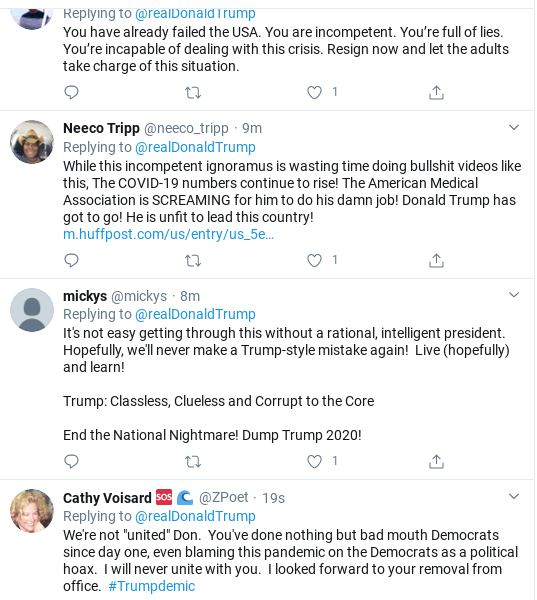 Screenshot-2020-03-23-at-9.53.54-AM Trump Goes On 27-Tweet Spree To Distract From COVID-19 Donald Trump Politics Social Media Top Stories