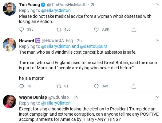Screenshot-2020-03-24-at-2.19.00-PM Hillary Trolls Trump Over Failed Corona Response With One Line Joke Donald Trump Politics Social Media Top Stories
