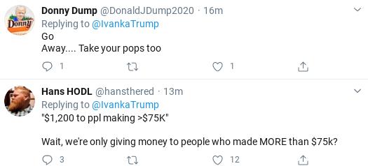 Screenshot-2020-03-25-at-10.22.10-AM Ivanka Suffers Wednesday Shaming After Corona Bailout Tweet Goes Wrong Donald Trump Politics Social Media Top Stories