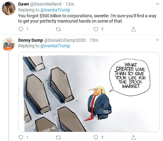 Screenshot-2020-03-25-at-10.22.23-AM Ivanka Suffers Wednesday Shaming After Corona Bailout Tweet Goes Wrong Donald Trump Politics Social Media Top Stories