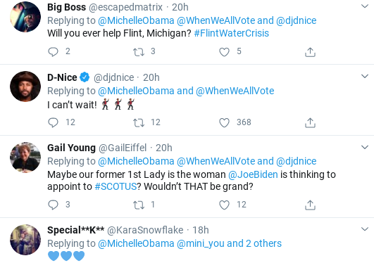 Screenshot-2020-03-25-at-11.13.42-AM Michelle Obama Shows America How To Lead With Coronavirus Rallying Cry Donald Trump Election 2020 Politics Social Media Top Stories