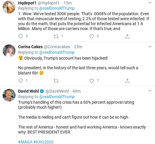 Screenshot-2020-03-25-at-11.42.33-AM Trump's Wednesday Corona Testing Announcement Backfires Immediately Donald Trump Politics Social Media Top Stories