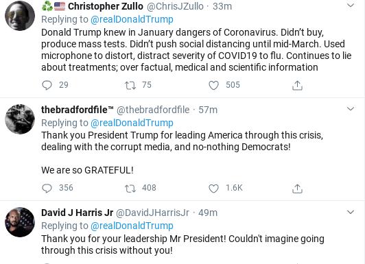 Screenshot-2020-03-25-at-11.42.41-AM Trump's Wednesday Corona Testing Announcement Backfires Immediately Donald Trump Politics Social Media Top Stories