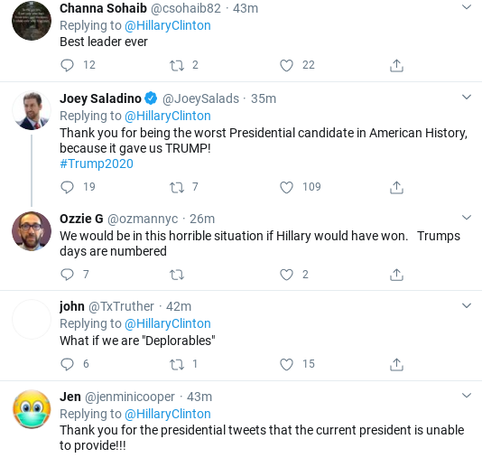 Screenshot-2020-03-25-at-12.25.47-PM Hillary Shows Trump How To Lead During Crisis With Wednesday Proclamation Donald Trump Politics Social Media Top Stories