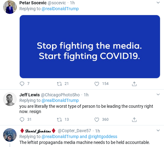 Screenshot-2020-03-28-at-11.37.14-AM Trump Continues Angry Freakout While Americans Suffer Donald Trump Healthcare Politics Social Media Top Stories