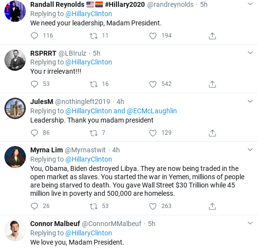 Screenshot-2020-03-30-at-5.11.25-PM Hillary Bypasses Trump With Covid-19 Leadership Message To Voters Donald Trump Politics Social Media Top Stories