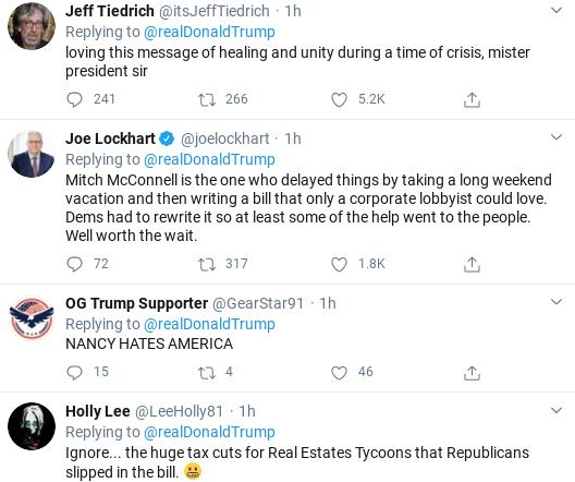 Screenshot-2020-03-30-at-9.11.13-AM Trump Attacks Pelosi In Angry Morning Twitter Freakout Donald Trump Politics Social Media Top Stories