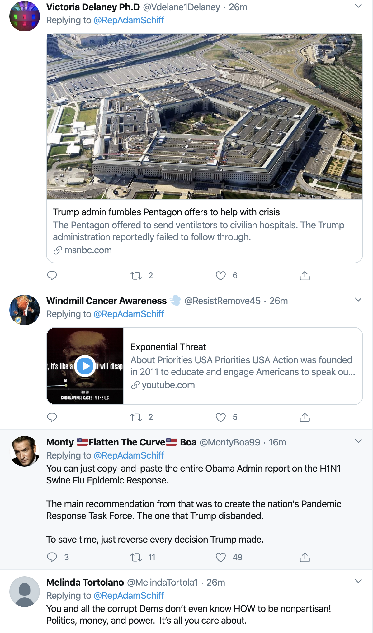 Screen-Shot-2020-04-01-at-9.35.37-AM Schiff Scares Trump/GOP With Coronavirus Investigation Announcement Donald Trump Featured Healthcare Politics Top Stories