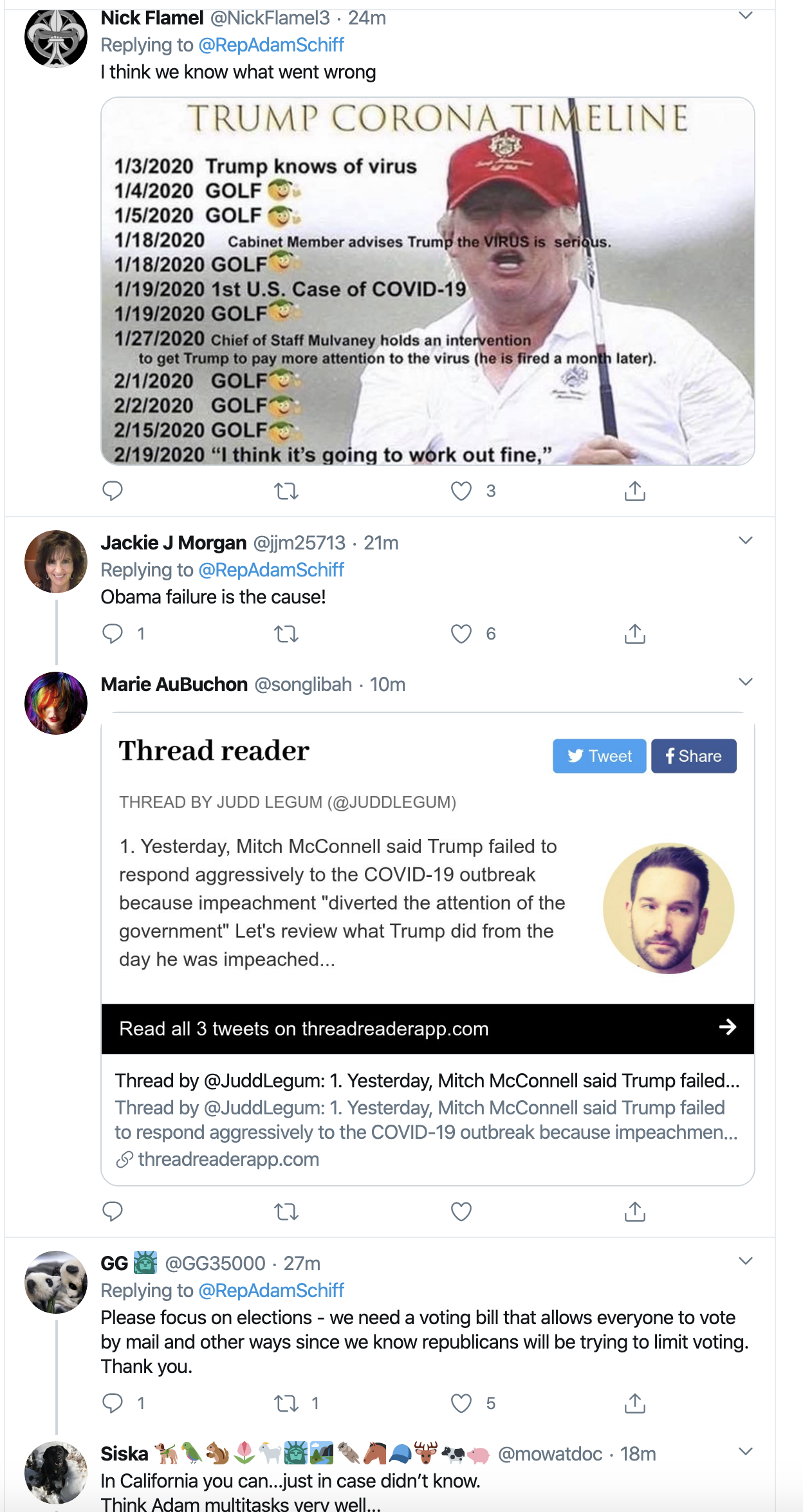 Screen-Shot-2020-04-01-at-9.37.00-AM Schiff Scares Trump/GOP With Coronavirus Investigation Announcement Donald Trump Featured Healthcare Politics Top Stories