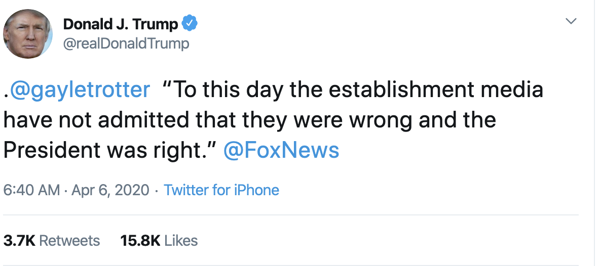 Screen-Shot-2020-04-06-at-7.08.08-AM Trump Delivers Unsightly AM Petty Rant On Twitter Donald Trump Featured Healthcare Politics Top Stories