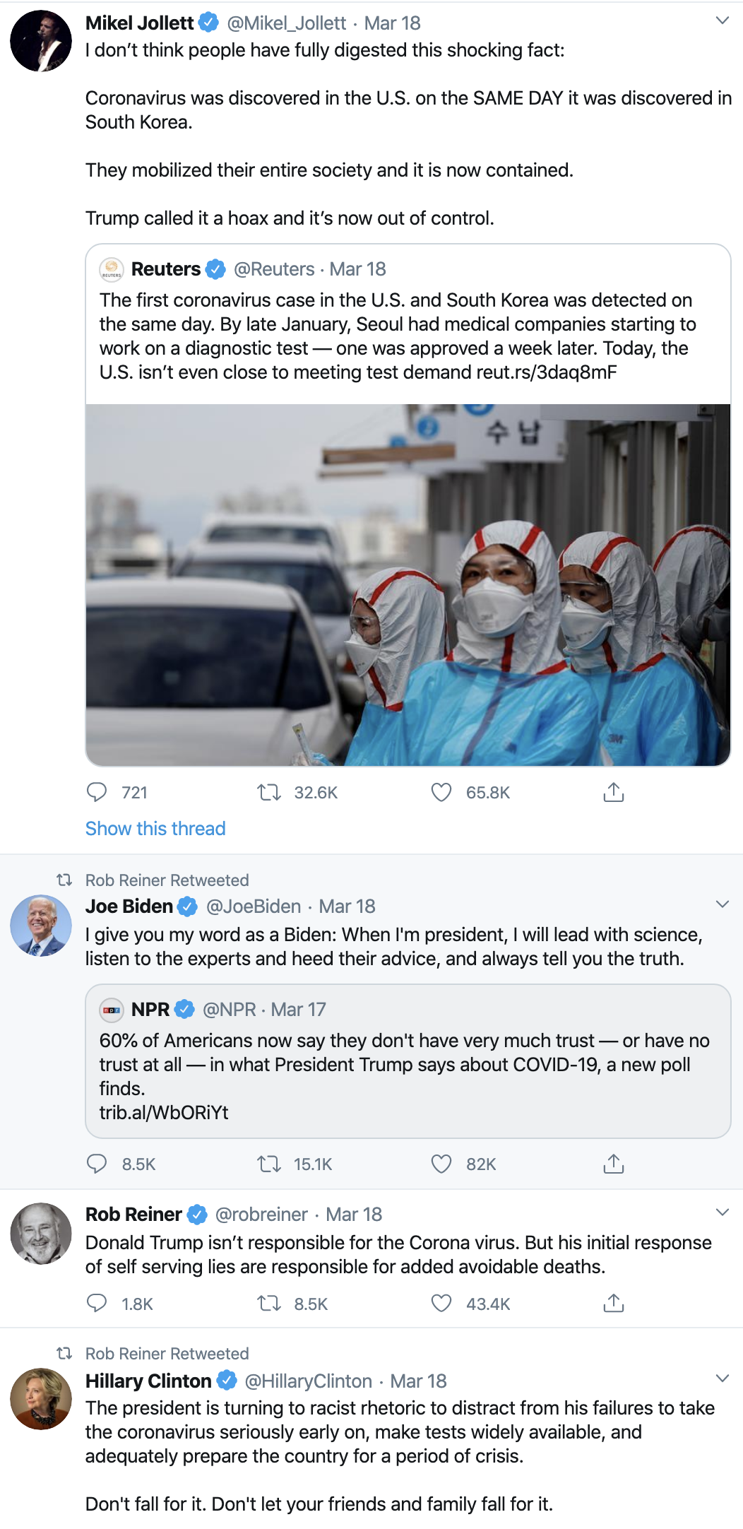 Screen-Shot-2020-04-08-at-7.01.44-AM Trump Celebrates On Twitter As Americans Die Election 2020 Featured Healthcare Politics Top Stories