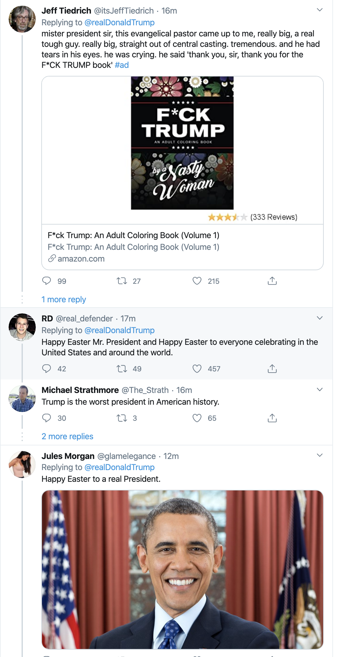 Screen-Shot-2020-04-12-at-7.25.44-AM Trump Tweets Laughable Easter Morning Message Donald Trump Election 2020 Featured Politics Top Stories