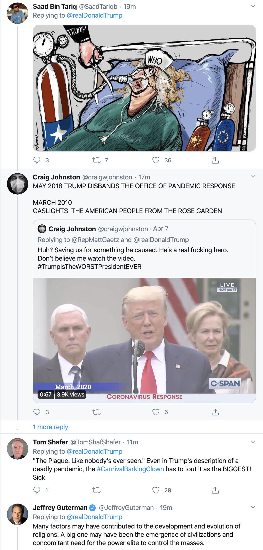 Screen-Shot-2020-04-12-at-7.26.52-AM Trump Tweets Laughable Easter Morning Message Donald Trump Election 2020 Featured Politics Top Stories