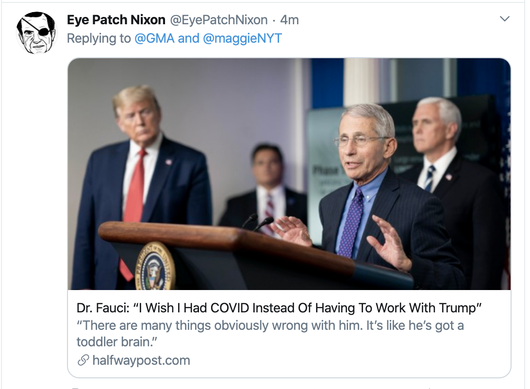 Screen-Shot-2020-04-20-at-8.12.43-AM Fauci Goes On GMA To Rebuke Quarantine Protesters Donald Trump Featured Healthcare Politics Top Stories