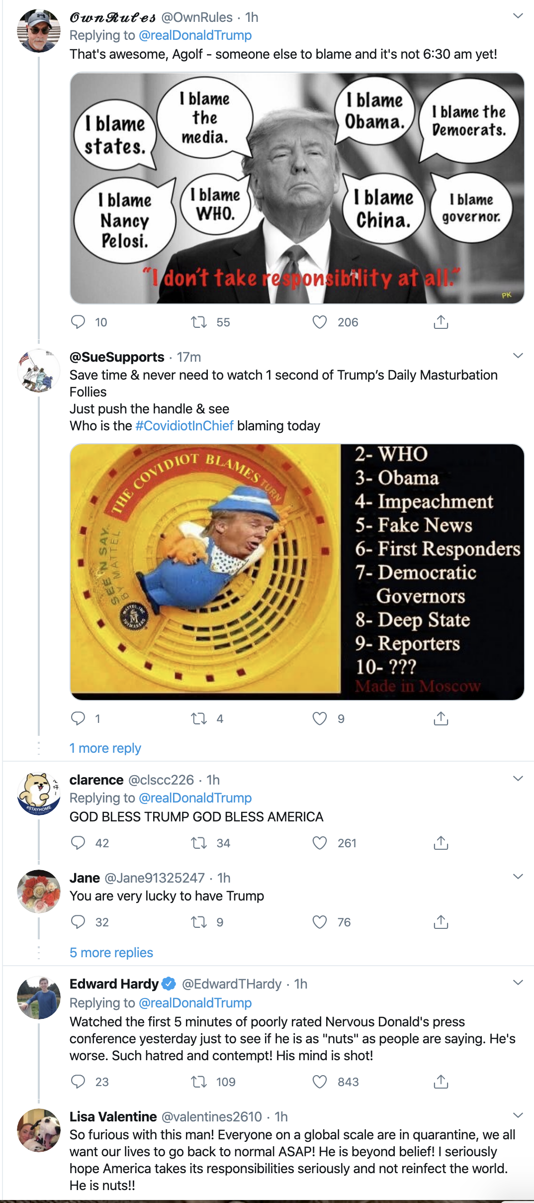 Screen-Shot-2020-04-21-at-7.08.27-AM Trump Launches Morning War Of Words On Twitter Election 2020 Featured Healthcare Politics Top Stories