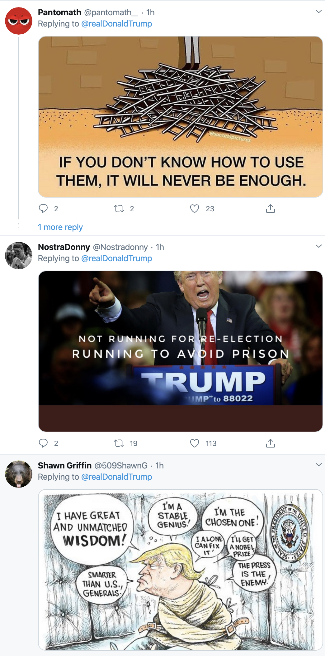 Screen-Shot-2020-04-21-at-7.09.09-AM Trump Launches Morning War Of Words On Twitter Election 2020 Featured Healthcare Politics Top Stories
