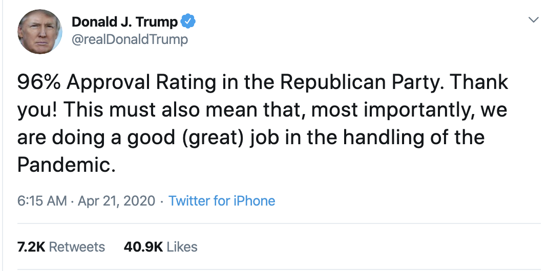 Screen-Shot-2020-04-21-at-7.11.52-AM Trump Launches Morning War Of Words On Twitter Election 2020 Featured Healthcare Politics Top Stories