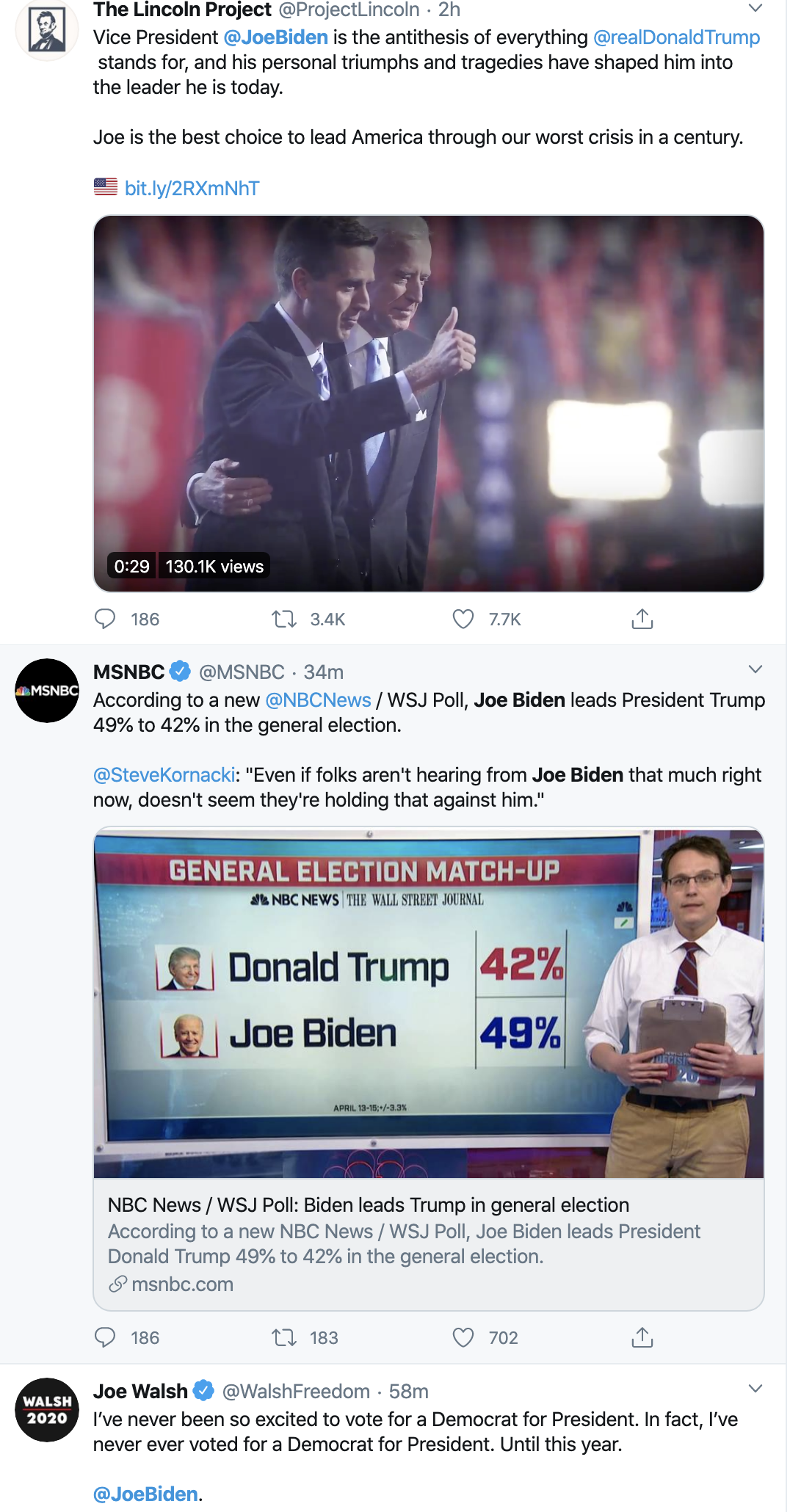 Screen-Shot-2020-04-21-at-8.39.38-AM Joe Biden Makes Tuesday Obama VP Announcement Donald Trump Election 2020 Featured Politics Top Stories