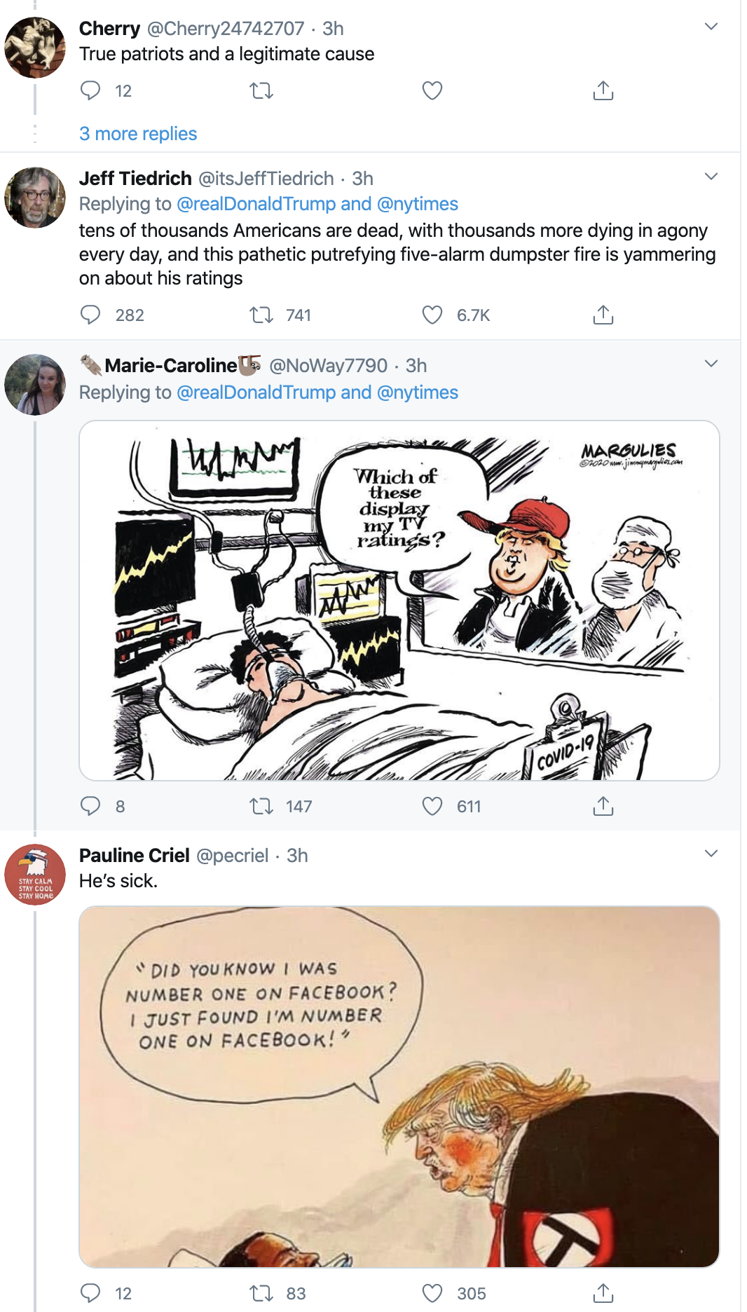 Screen-Shot-2020-04-21-at-9.13.37-AM Twitter Icon Rips Trump For Bragging As COVID-19 Kills 42,000 Election 2020 Featured Healthcare Politics Top Stories