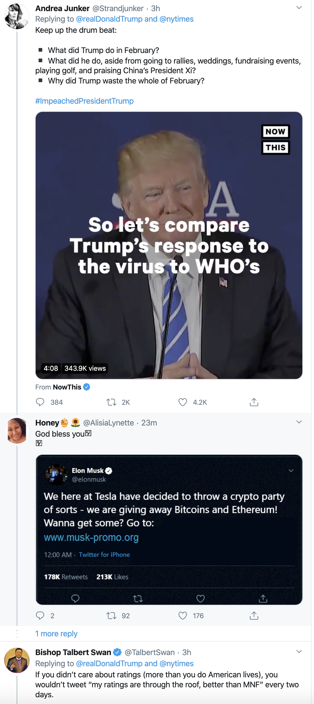 Screen-Shot-2020-04-21-at-9.14.00-AM Twitter Icon Rips Trump For Bragging As COVID-19 Kills 42,000 Election 2020 Featured Healthcare Politics Top Stories