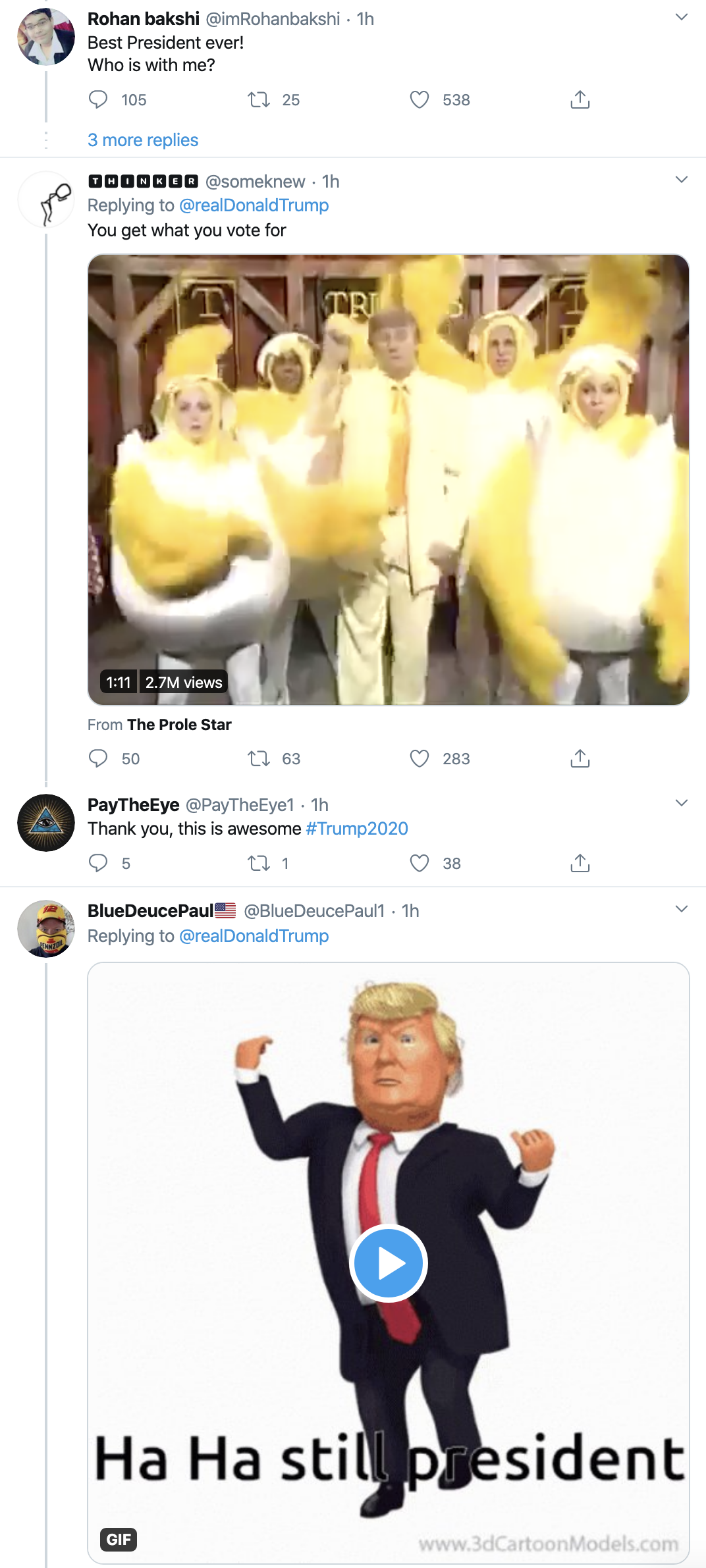 Screen-Shot-2020-04-22-at-7.08.05-AM Trump Suffers 5-Tweet Wednesday Morning Emotional Meltdown Featured Healthcare Military Politics Top Stories