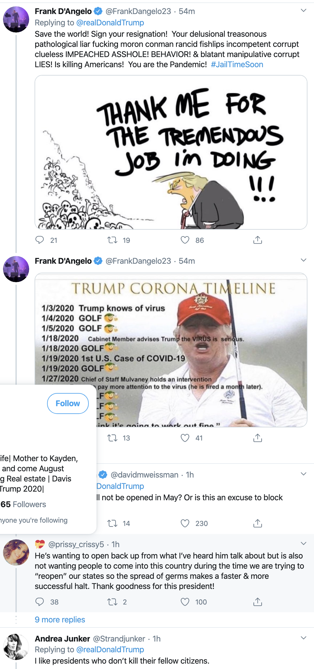 Screen-Shot-2020-04-22-at-7.08.26-AM Trump Suffers 5-Tweet Wednesday Morning Emotional Meltdown Featured Healthcare Military Politics Top Stories