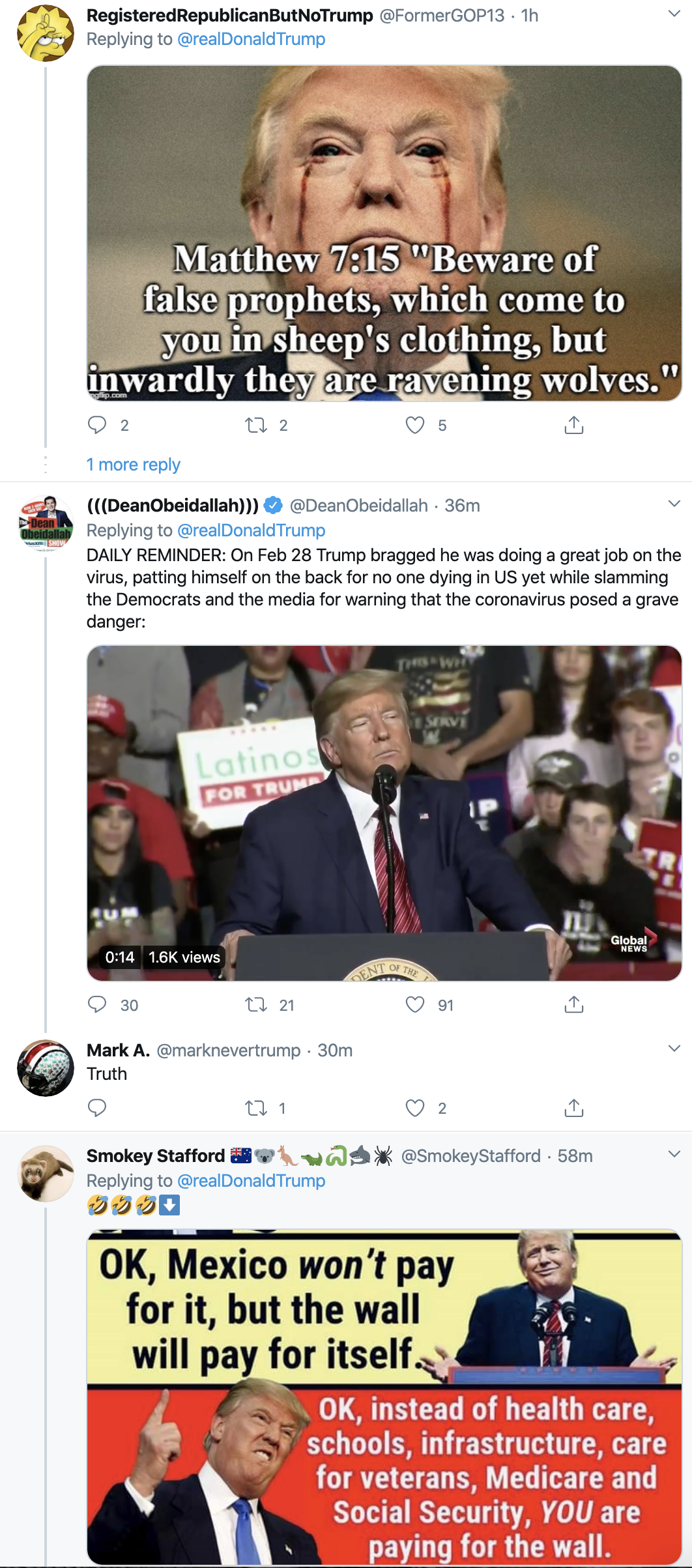 Screen-Shot-2020-04-22-at-7.09.09-AM Trump Suffers 5-Tweet Wednesday Morning Emotional Meltdown Featured Healthcare Military Politics Top Stories