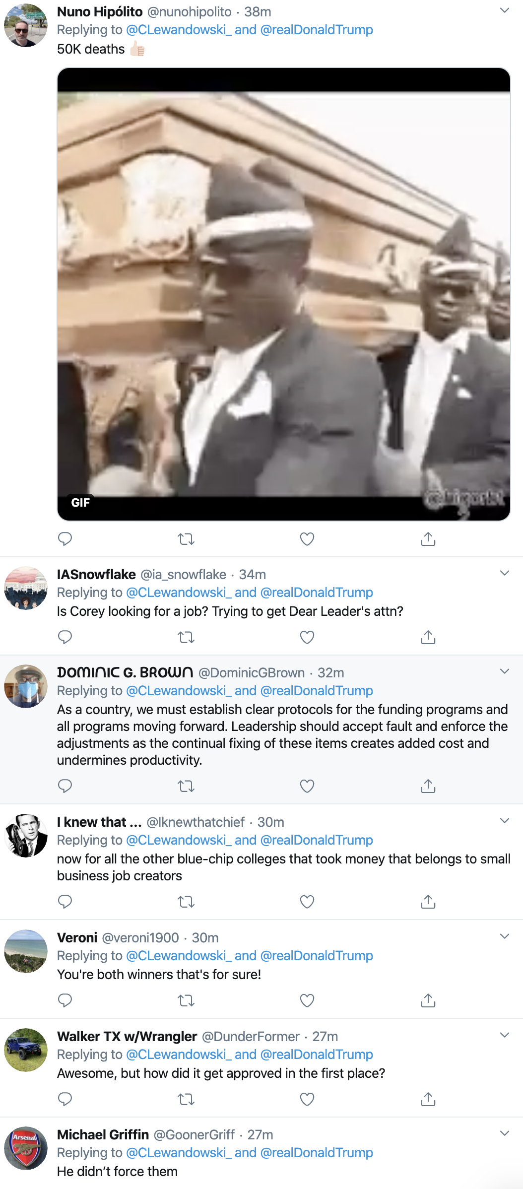 Screen-Shot-2020-04-23-at-8.55.28-AM Trump Tweets Jab At Harvard After 'Forcing' Them To Return Stimulus Economy Featured Healthcare Politics Top Stories