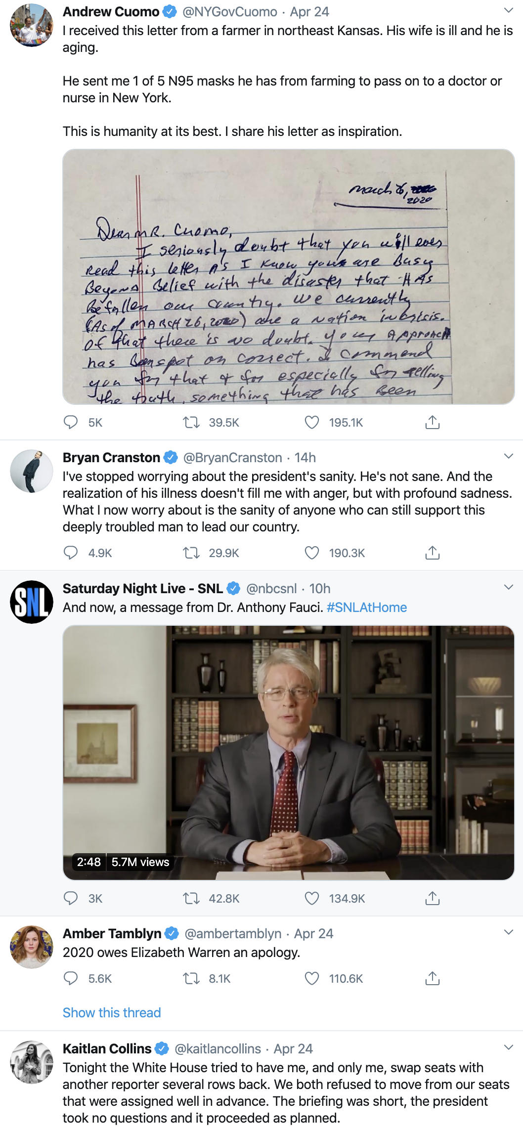 Screen-Shot-2020-04-26-at-9.26.15-AM Obama Tweets Updated Weekend 2020 Endorsement Like A Real Leader Election 2020 Featured Healthcare Politics Top Stories