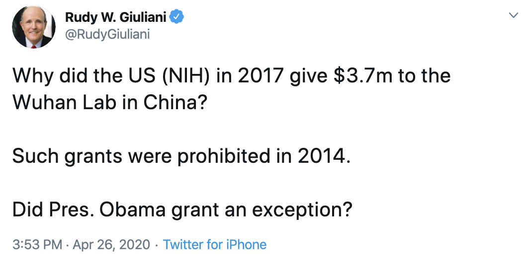 Screen-Shot-2020-04-27-at-9.18.39-AM Giuliani Returns To Spotlight & Is Humiliated In Seconds Coronavirus Domestic Policy Featured Politics Top Stories