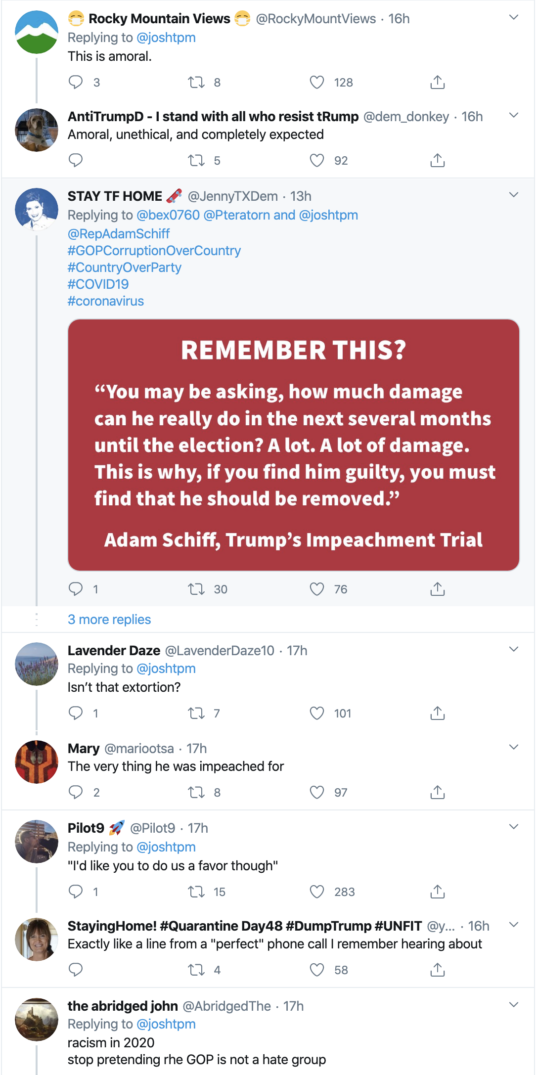 Screen-Shot-2020-04-29-at-9.04.23-AM Schiff Publicly Shames Trump Over Failed Corona Response With Viral Tweet Uncategorized