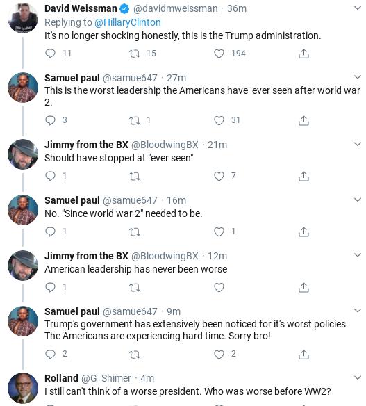 Screenshot-2020-04-01-at-11.14.35-AM Hillary Shames Trump Over Corona Failure During Wednesday Twitter Trolling Donald Trump Politics Social Media Top Stories