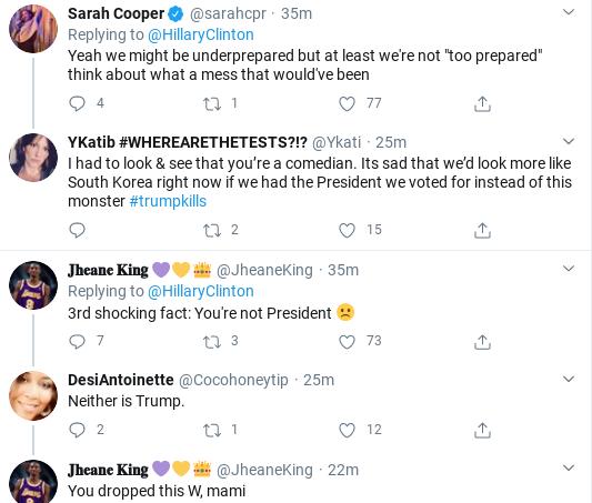 Screenshot-2020-04-01-at-11.14.57-AM Hillary Shames Trump Over Corona Failure During Wednesday Twitter Trolling Donald Trump Politics Social Media Top Stories