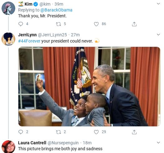 Screenshot-2020-04-01-at-11.28.26-AM Obama Returns & Tweets Favor To Ask Of All Americans Donald Trump Politics Social Media Top Stories