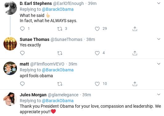 Screenshot-2020-04-01-at-11.28.56-AM Obama Returns & Tweets Favor To Ask Of All Americans Donald Trump Politics Social Media Top Stories
