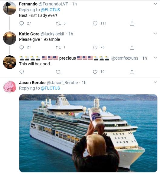 Screenshot-2020-04-01-at-11.52.25-AM Melania Attempts Coronavirus 'Condolences' Message But Fails Miserably Donald Trump Politics Social Media Top Stories