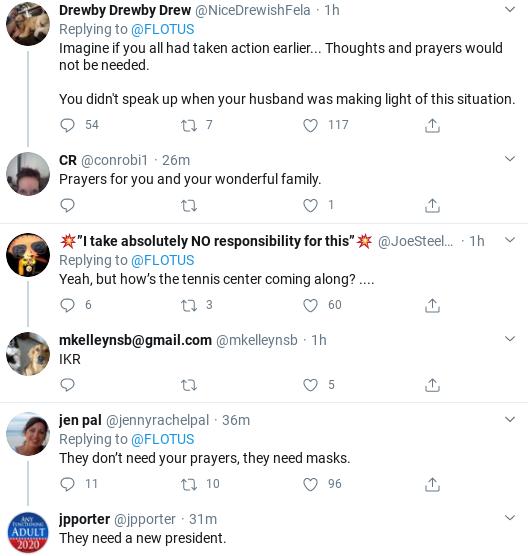 Screenshot-2020-04-01-at-11.52.50-AM Melania Attempts Coronavirus 'Condolences' Message But Fails Miserably Donald Trump Politics Social Media Top Stories