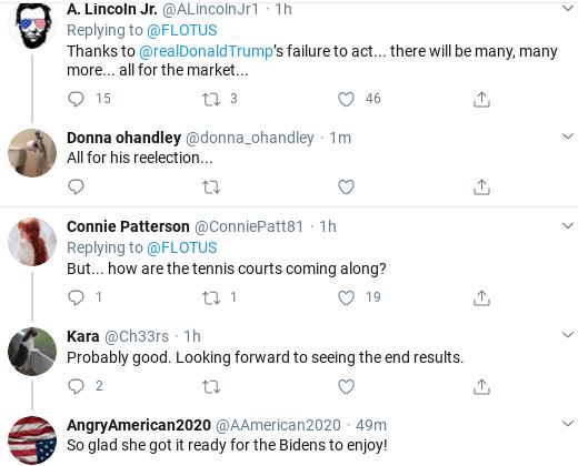 Screenshot-2020-04-01-at-11.53.19-AM Melania Attempts Coronavirus 'Condolences' Message But Fails Miserably Donald Trump Politics Social Media Top Stories