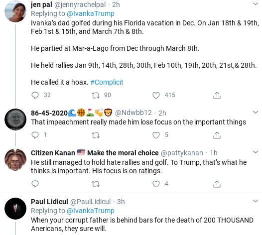 Screenshot-2020-04-01-at-12.15.20-PM Ivanka Tweets Phony Coronavirus Message & Suffers Swift Embarrassment Donald Trump Politics Social Media Top Stories