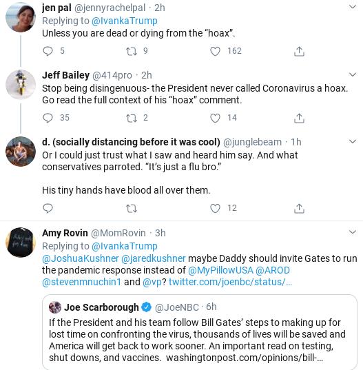Screenshot-2020-04-01-at-12.16.08-PM Ivanka Tweets Phony Coronavirus Message & Suffers Swift Embarrassment Donald Trump Politics Social Media Top Stories