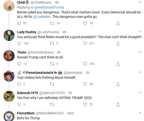 Screenshot-2020-04-08-at-4.50.08-PM Trump Rants About Dem Primary After Bernie Drops Out Donald Trump Politics Social Media Top Stories