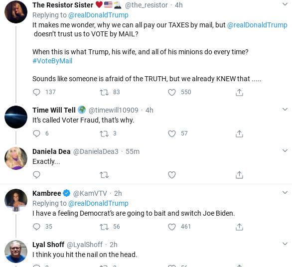 Screenshot-2020-04-08-at-4.50.27-PM Trump Rants About Dem Primary After Bernie Drops Out Donald Trump Politics Social Media Top Stories