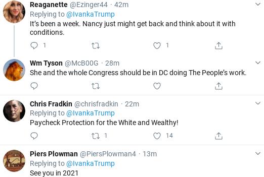 Screenshot-2020-04-19-at-11.32.13-AM Ivanka's Attempt To Tweet About Coronavirus Relief Goes Horribly Wrong Donald Trump Politics Social Media Top Stories