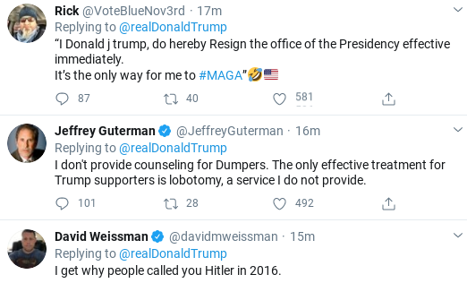 Screenshot-2020-04-27-at-10.05.33-AM Trump Tweets Unhinged Threatening Screed Against Media Donald Trump Politics Social Media Top Stories
