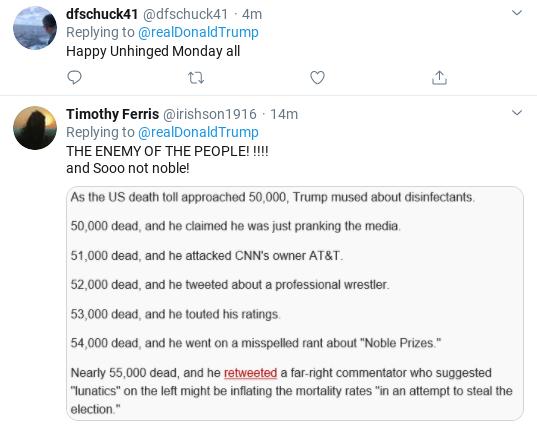 Screenshot-2020-04-27-at-10.06.00-AM Trump Tweets Unhinged Threatening Screed Against Media Donald Trump Politics Social Media Top Stories