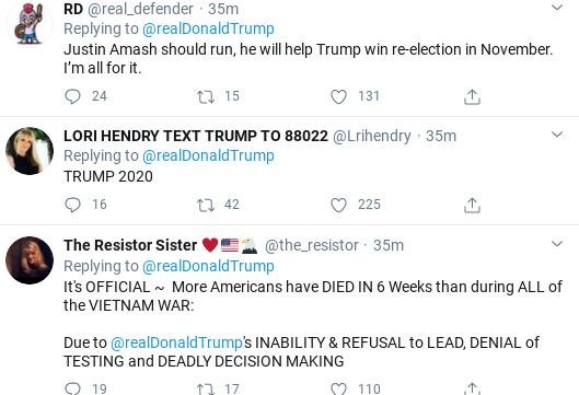 Screenshot-2020-04-29-at-11.32.47-AM Trump Snaps & Rage Tweets At Justin Amash During Wednesday Meltdown Donald Trump Election 2020 Politics Social Media Top Stories