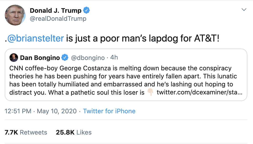 Screen-Shot-2020-05-10-at-3.24.01-PM Trump Claims Hillary Behind 'Russian Coup' On Twitter Corruption Crime Donald Trump Election 2020 Russia Top Stories Twitter