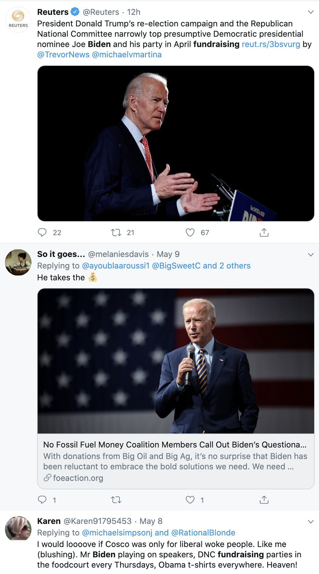 Screen-Shot-2020-05-12-at-12.09.56-PM New Campaign Numbers Have Trump's Head Spinning Corruption Crime Donald Trump Election 2020 Top Stories Twitter