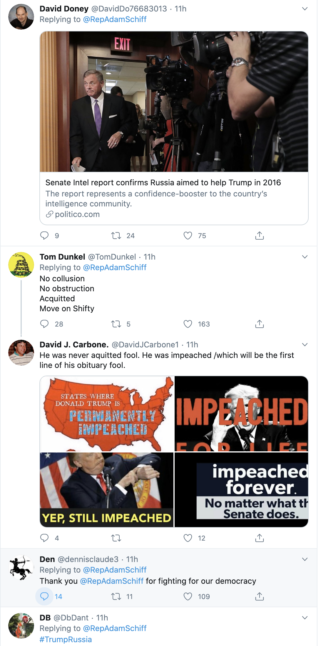 Screen-Shot-2020-05-13-at-8.58.45-AM Schiff Trolls Trump Over 'Russian Help' With Fact-Check Of GOP Lies Crime Featured Politics Russia Top Stories